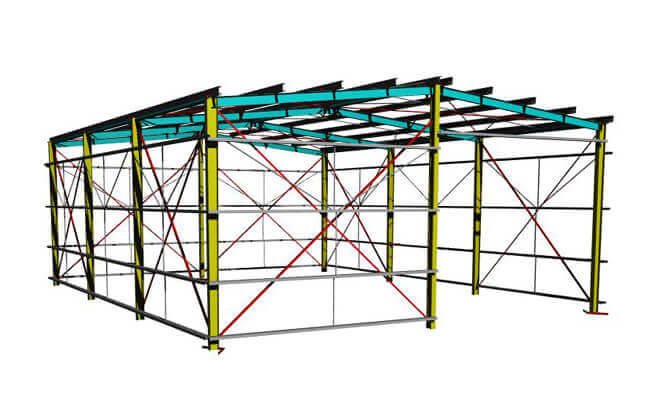 15x12m Storage Building