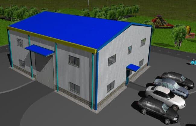 18x15m Garage Building