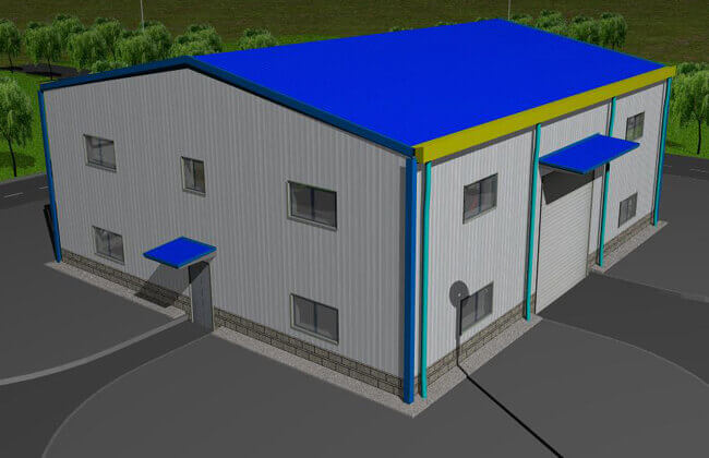 Steel Garage Building