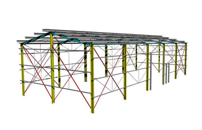 25x10m Shed Building