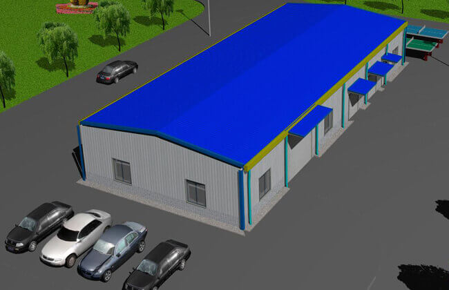 30x12m Agricultural Building