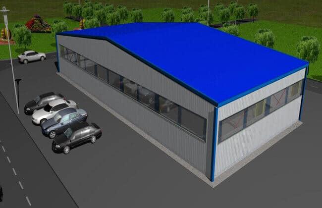 30x14m Grain Storage