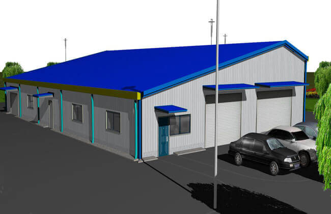 30x18m Warehouse Building