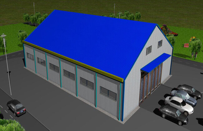 30x20m Church Building