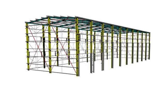 40x12m Garage Building