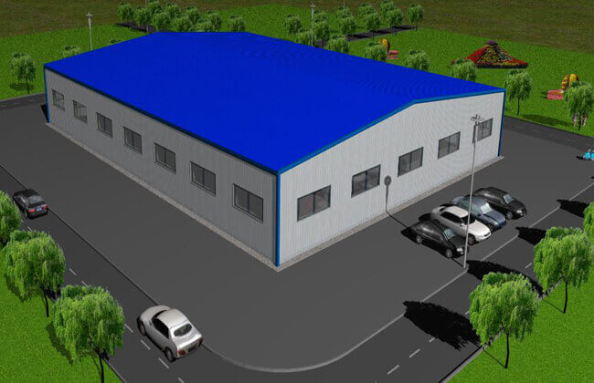 40x30m Metal Warehouse