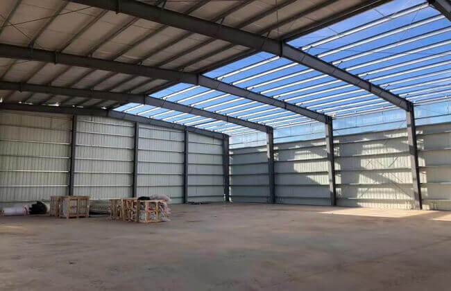 Metal Building Warehouse in America