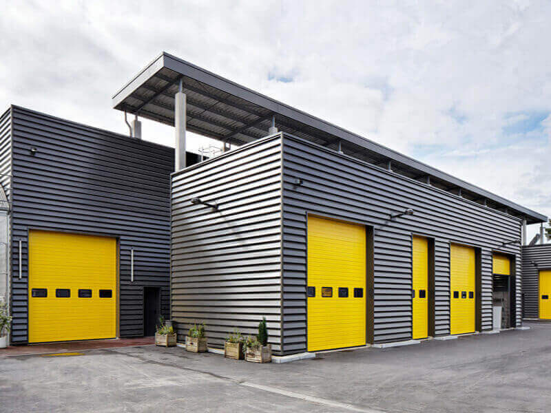Metal Buildings Cladding