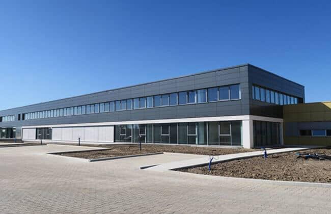 Steel Office Building