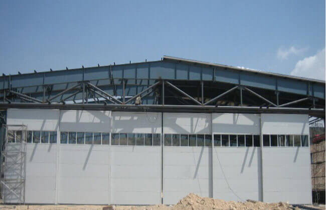 Steel Aircraft Hangar Building