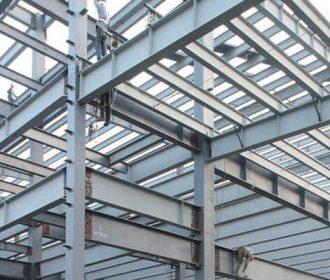 Steel Building Installation