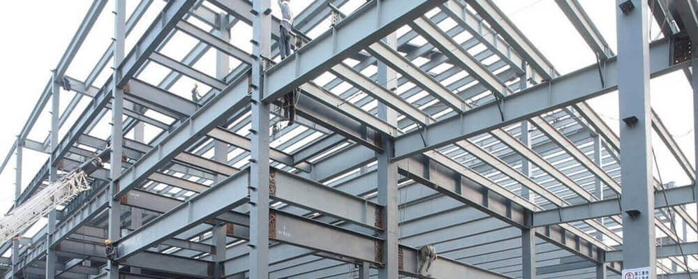 Steel Building Installation