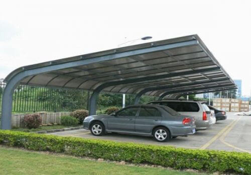 Steel Carport Building