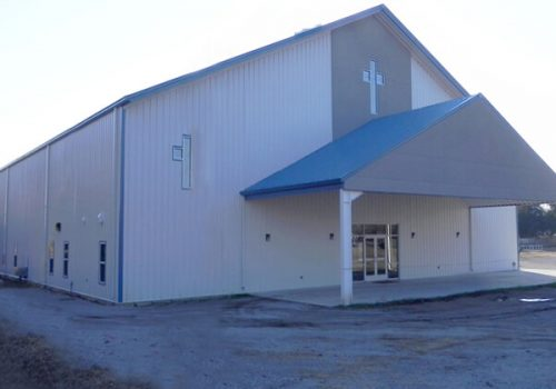 Steel Church Building