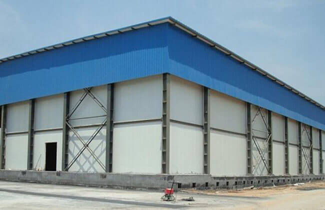 Steel Cold Storage Building