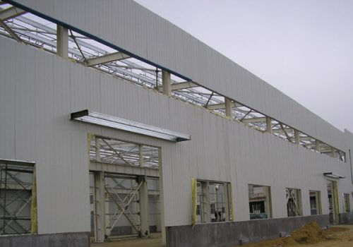 Steel Industrial Building