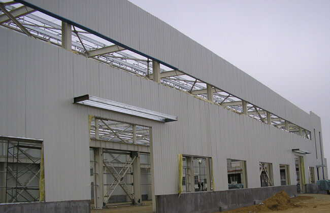 Steel Industrial Building