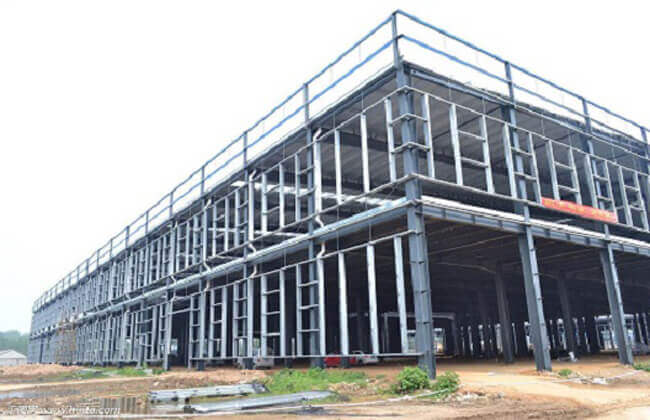 Steel Retail Building