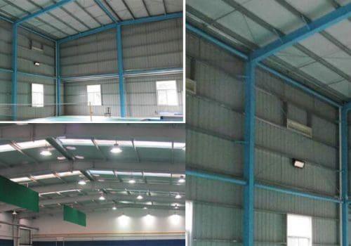 Steel Sport Building