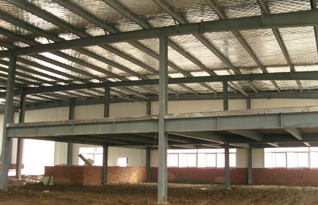 Steel Warehouse Building