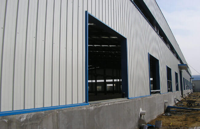 metal warehouse building