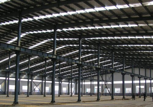 Steel Manufacturing Building