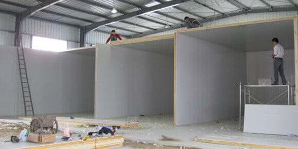 price of cold storage building