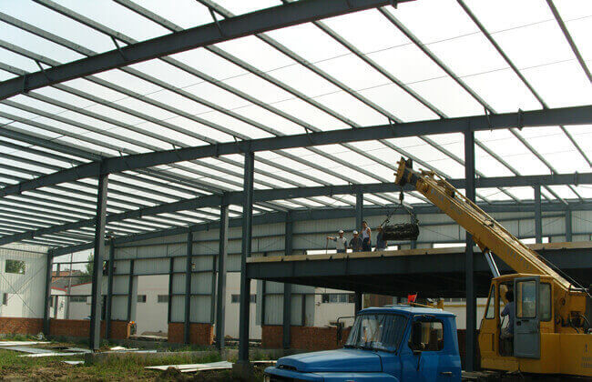 prefab steel workshop