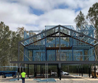 Light Steel Structure In Tourism