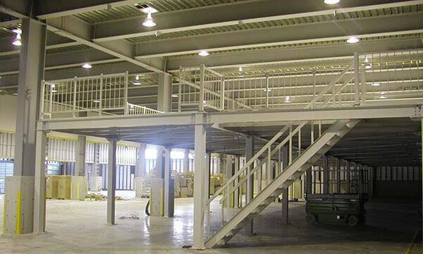 Metal Platform Structure