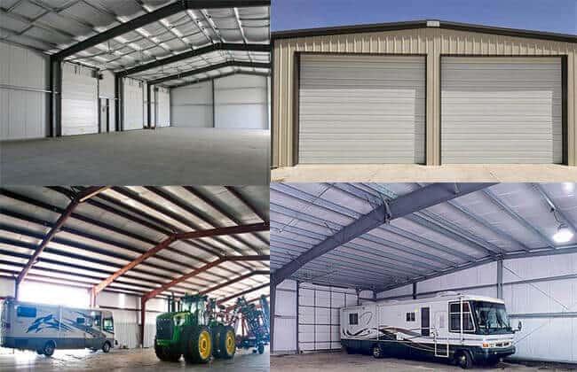 Metal Structure Garage Kits