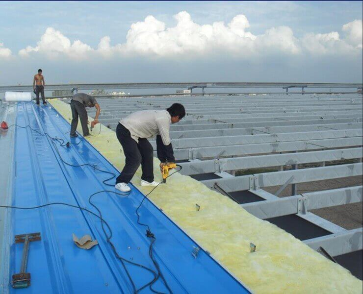 Roof Panel Installation