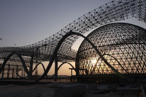 space steel structure buildings