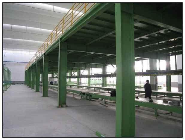 steel platform Building