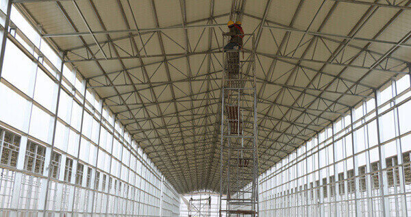 Steel Structure Poultry Building