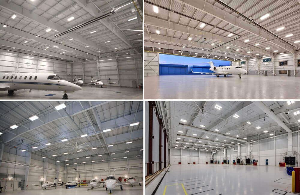 Steel Structure Aircraft Hangar