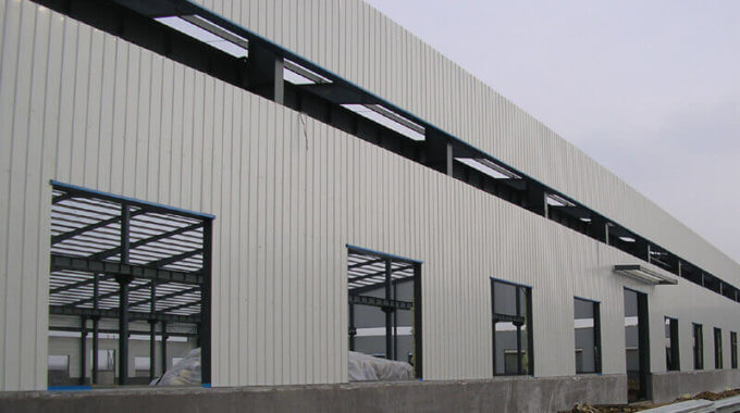 Steel Structure Workshop Enclosure