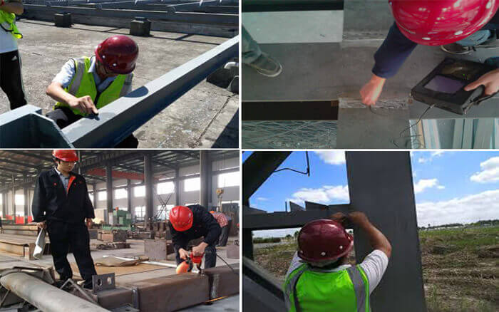 metal structure inspection