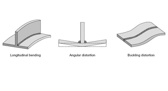 steel structure welding distortion