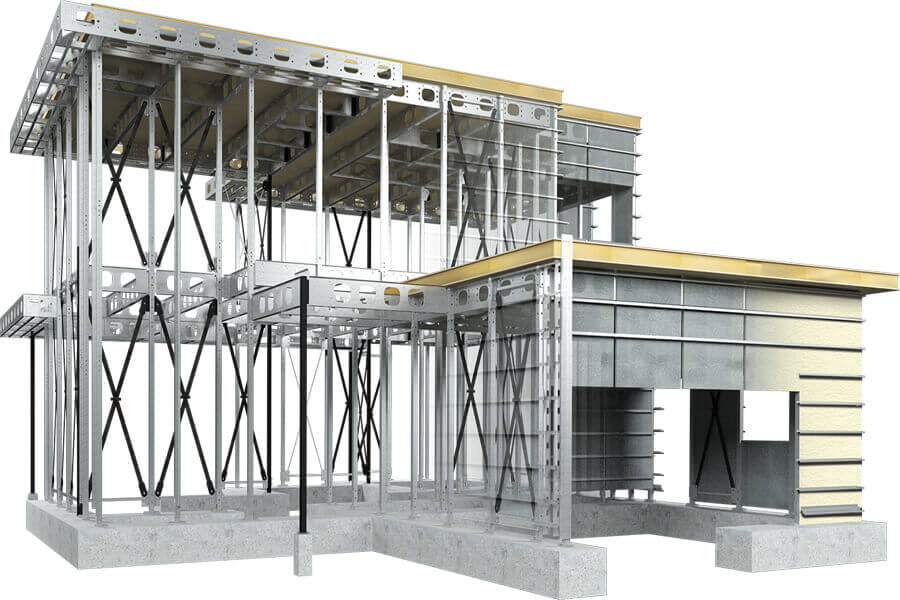 light steel structure buildings