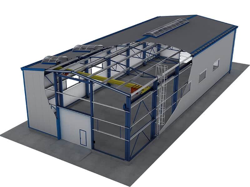 Light Steel Structure Workshop