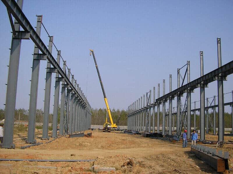 steel structure installation