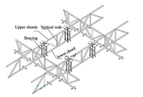 steel truss structure