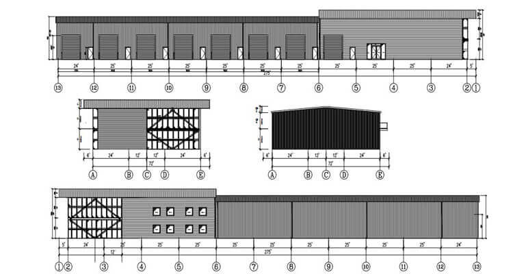 Metal Building Plan