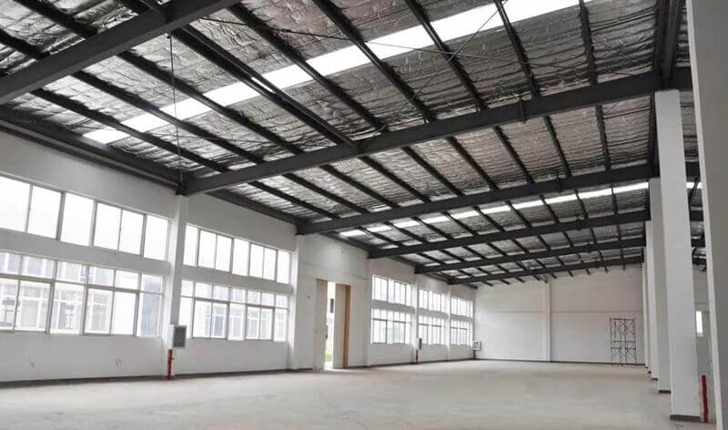 Insulation for Metal Structure Building