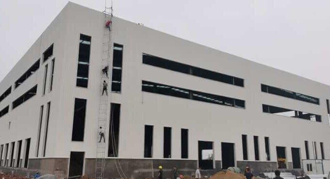 Steel Structure Logistics Warehouse