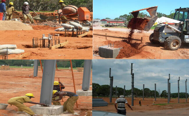 Steel Structure Workshop In Mozambique