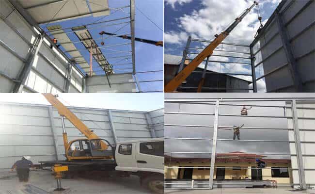 Steel Workshop Building In Bolivia