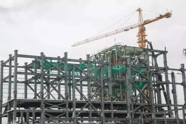 steel frame bracing structure