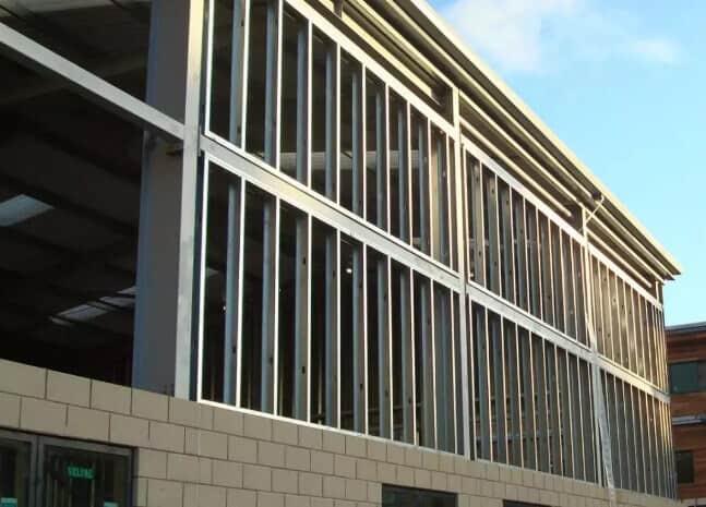 Steel Frame Shear Wall System